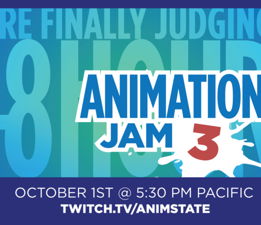 Animation Jam 3 Judging announcemnt