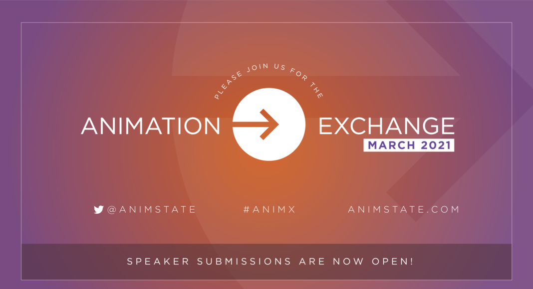 Animation Exchange 2021 - Speaker Submissions are open!